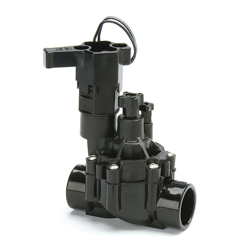 100-DVF 1 in. Slip Electric Valve with Flow Control