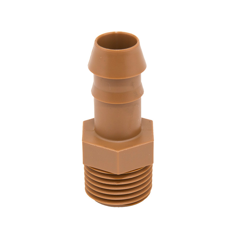 17MM Dripline Barbed Insert x 1/2-inch Male Adapter