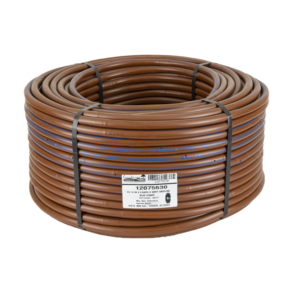 EZ-ID-CV 17MM Dripline - .6GPH Emitters 500-foot Roll x 12-inch Spacing