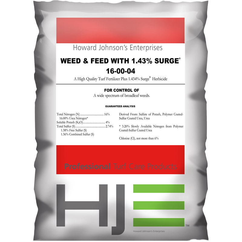 16-0-4-Surge Weed and Feed Fertilizer