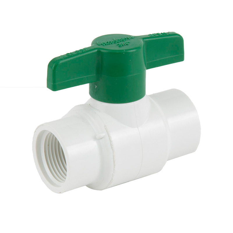 3/4-inch Plastic Threaded Ball Valve
