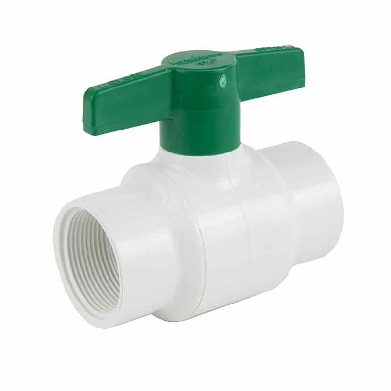 1 1/2 Inch Plastic Threaded Ball Valve