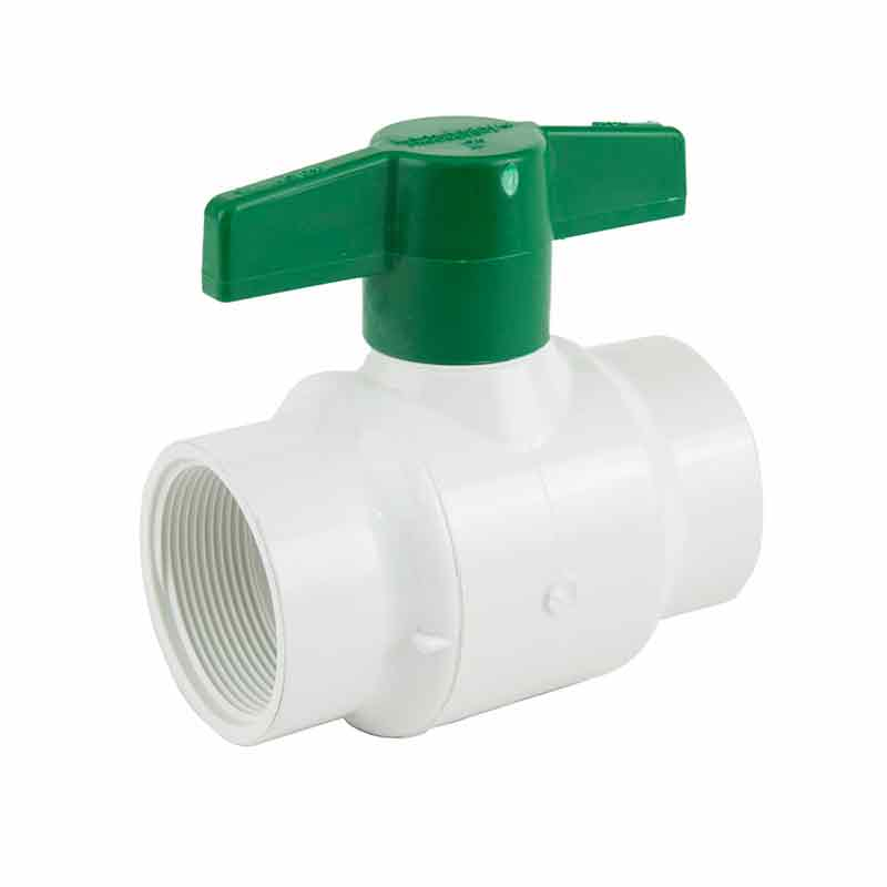 2-inch Plastic Threaded Ball Valve