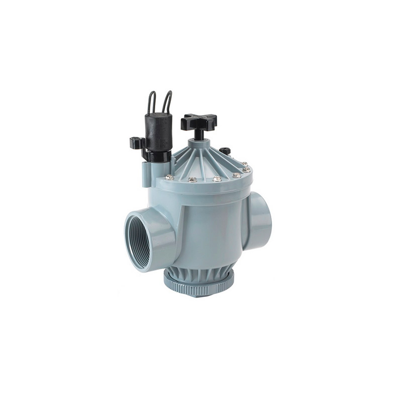 200B 1-1/2-inch Threaded Brass Electric Globe/Angle Valve