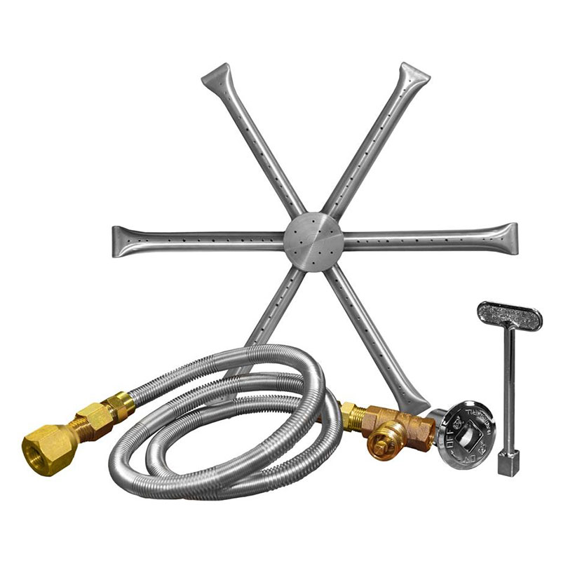 22 Inch Stainless Steel Burning Spur Kit