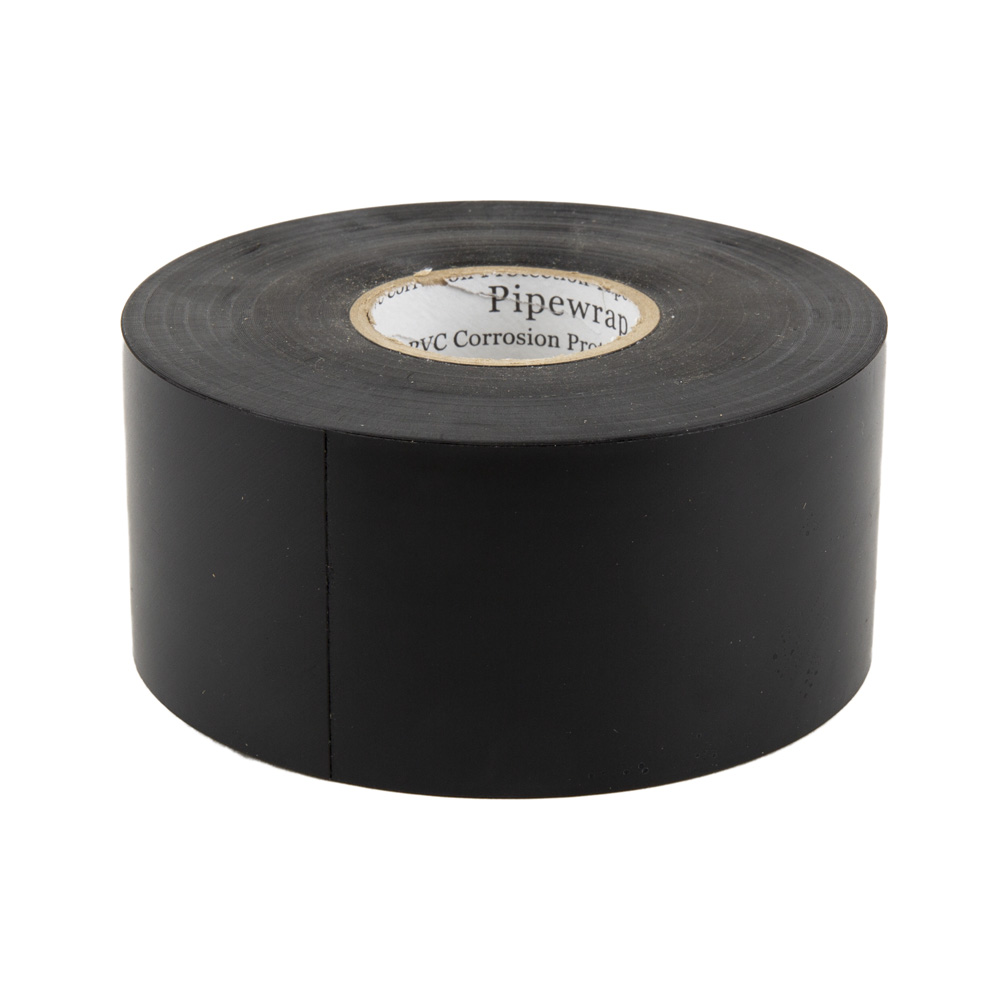 2-inch 10-mil Black Vinyl Tape - 100-foot Roll