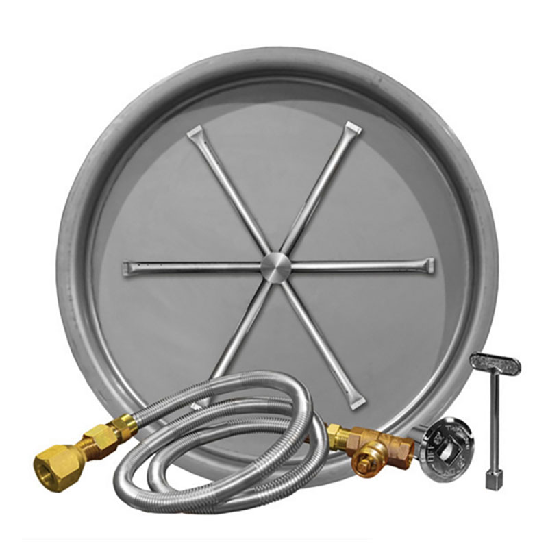 29-Inch Burner Pan with 22-Inch Spur