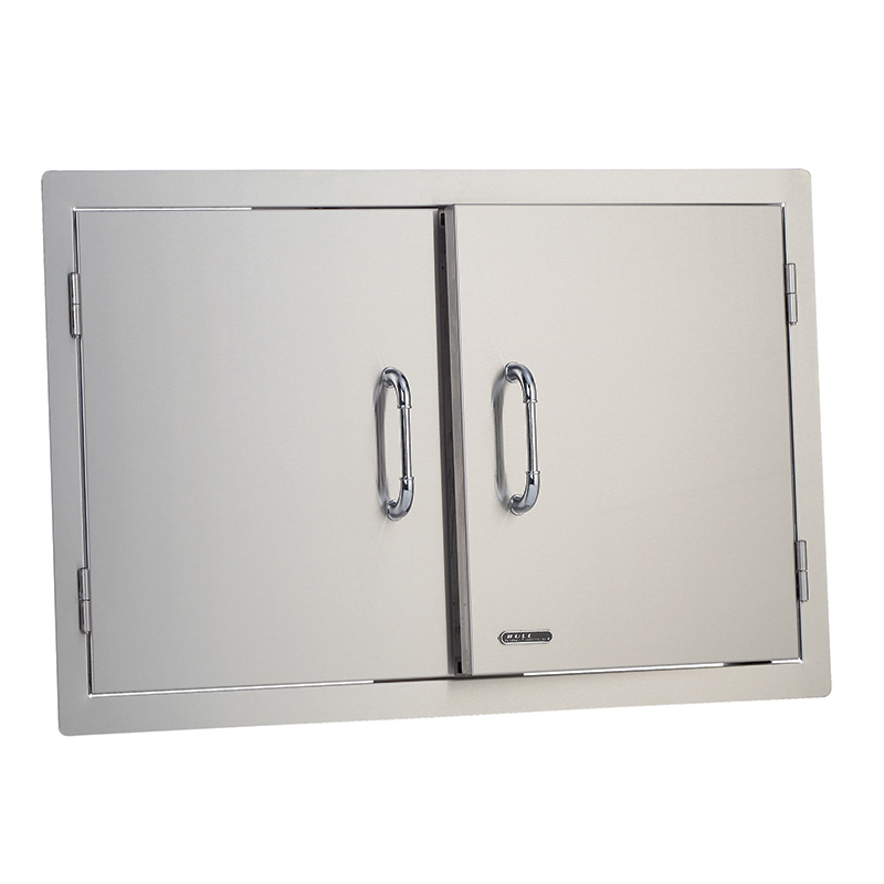 Stainless Steel Vertical Access Double Door