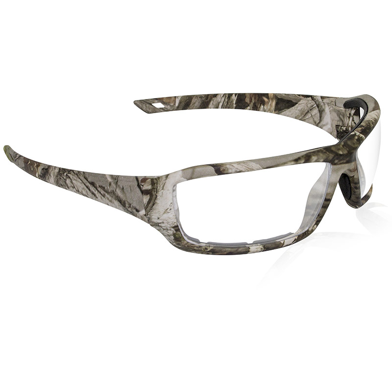 Dry Forest Camo Safety Glasses - Clear