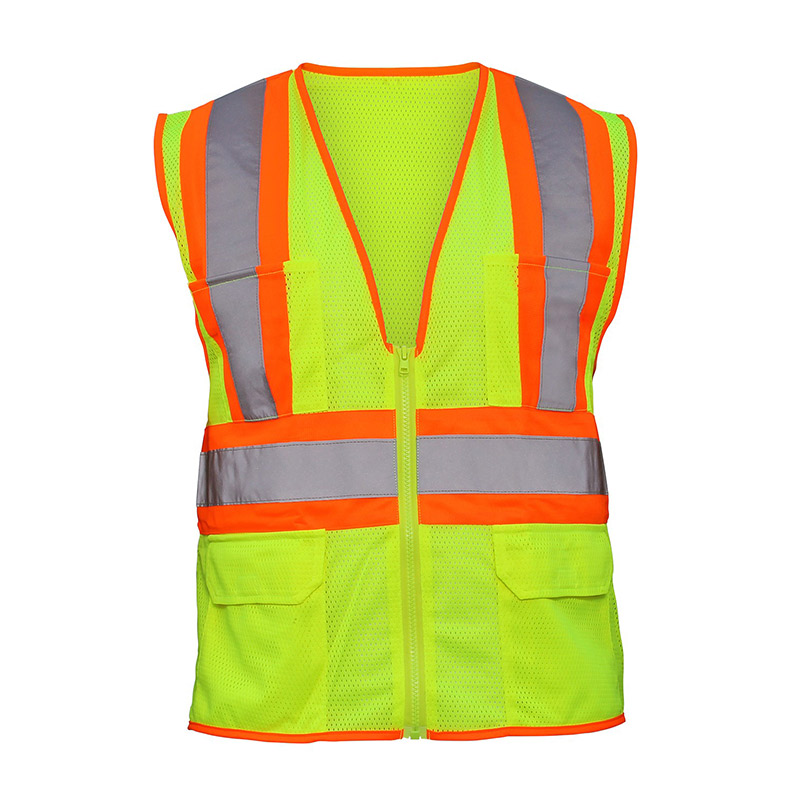 High Visibility 2-Tone Safety Vest - Large