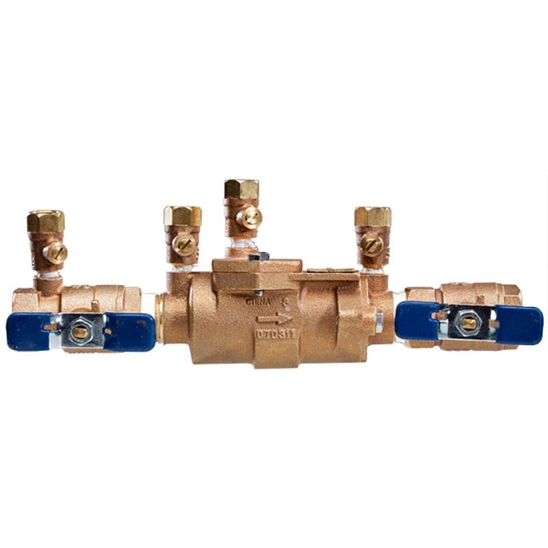 1-1/2-inch 850 In-Line Design Double Check Valve Assembly Brass