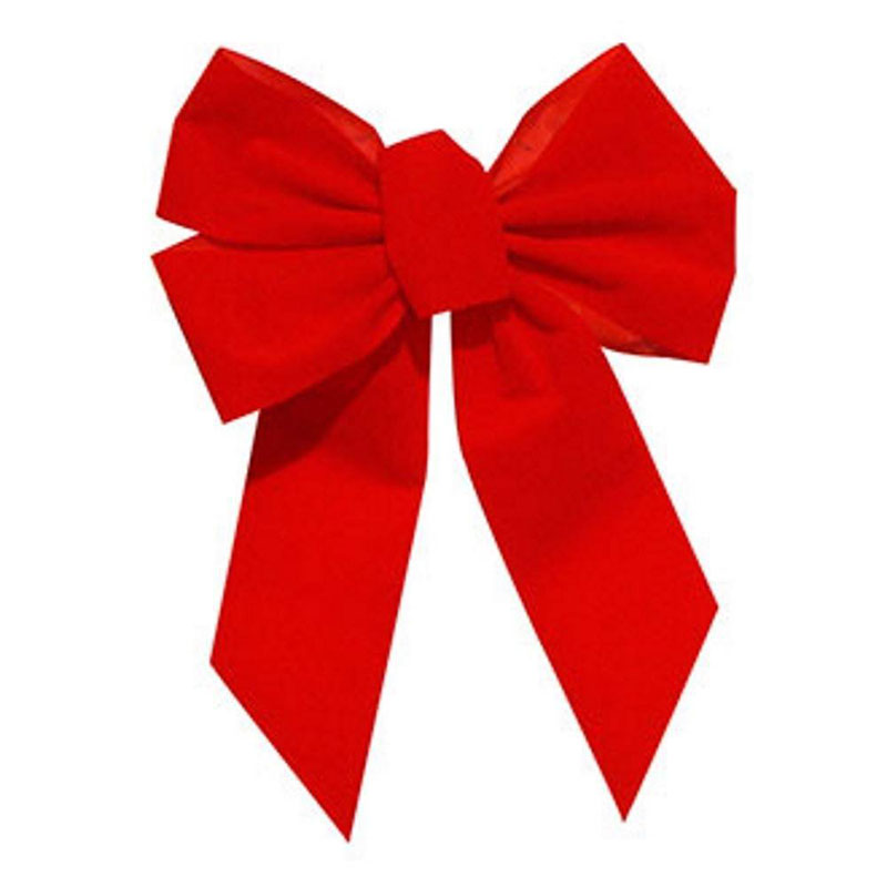 Small Adjustable Red Bow