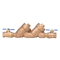 950XLTFT 1 Inch Double Check Valve Assembly With Fast Test