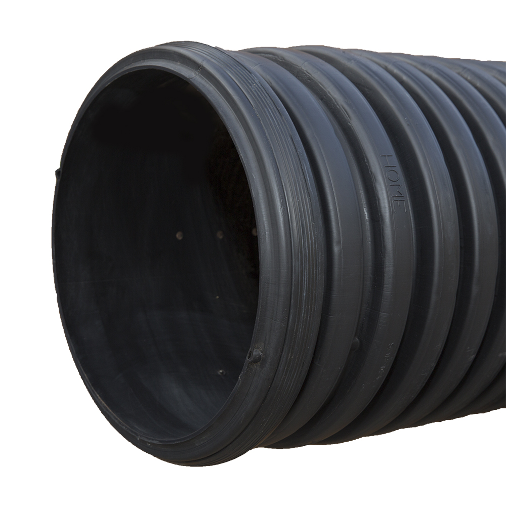 4-inch x 20-foot Corrugated N-12 Slotted Perforated Pipe