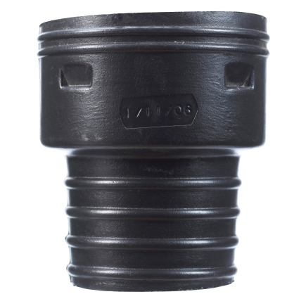 4-inch 462 Flexdrain Corrugated Snap Adapter