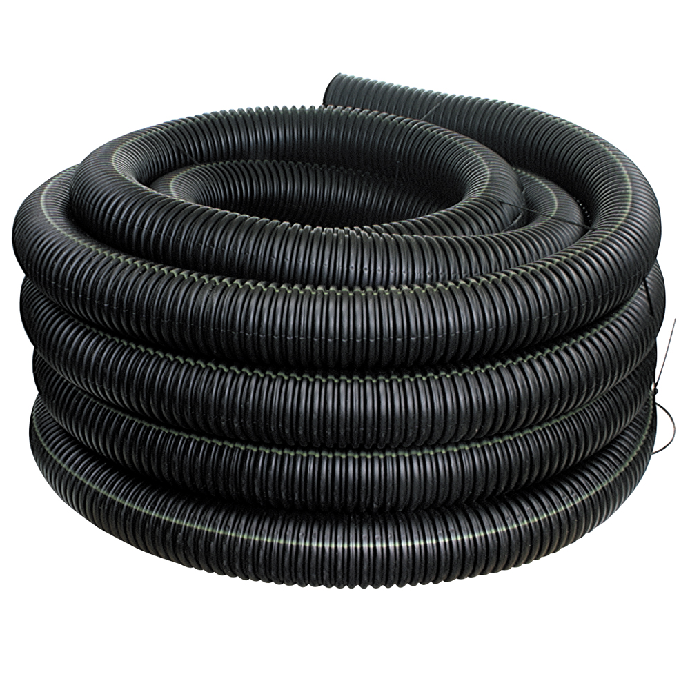 4-inch x 10-foot Flexdrain Corrugated Pipe