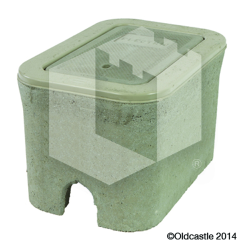 B03 Concrete Meter Box Without Lid