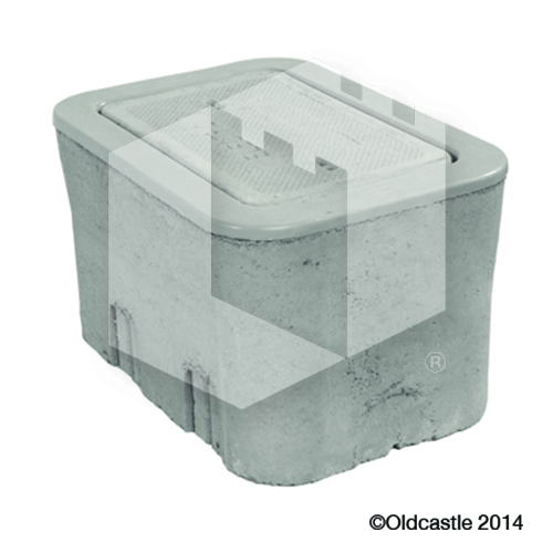 B09 Meter Box Concrete Water Lid