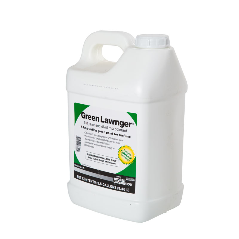 Green Lawnger Turf Colorant - 2-1/2 gallon Bottle