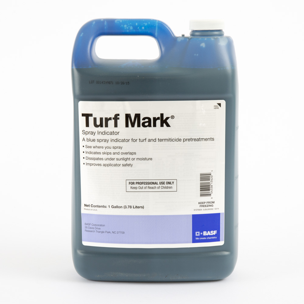 Turf Mark Blue Dye - 2.5 gallon