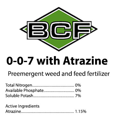 0-0-7 Weed & Feed Atrazine Fertilizer