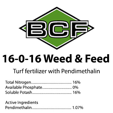 16-0-16 Weed & Feed Pendimethalin Fertilizer
