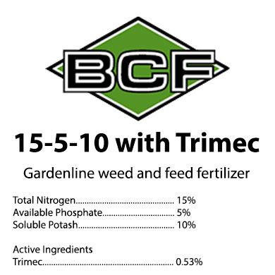 Gardenline 15-5-10 Weed & Feed Trimec Fertilizer