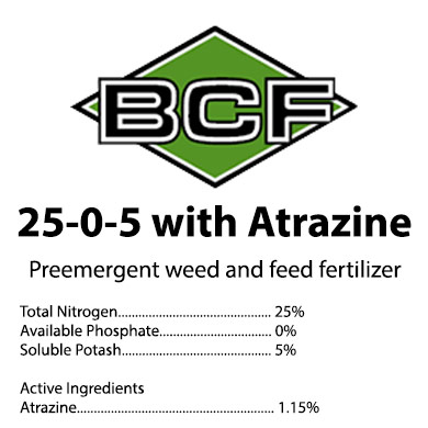 25-0-5 Weed and Feed Atrazine Mini-Prill Fertilizer