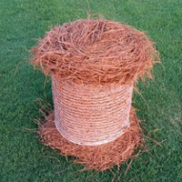 Long Leaf Colored Pine Straw Roll