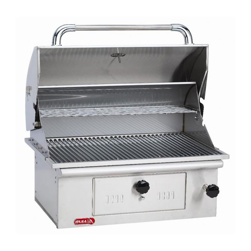 30-Inch Built-In Bison Charcoal Grill