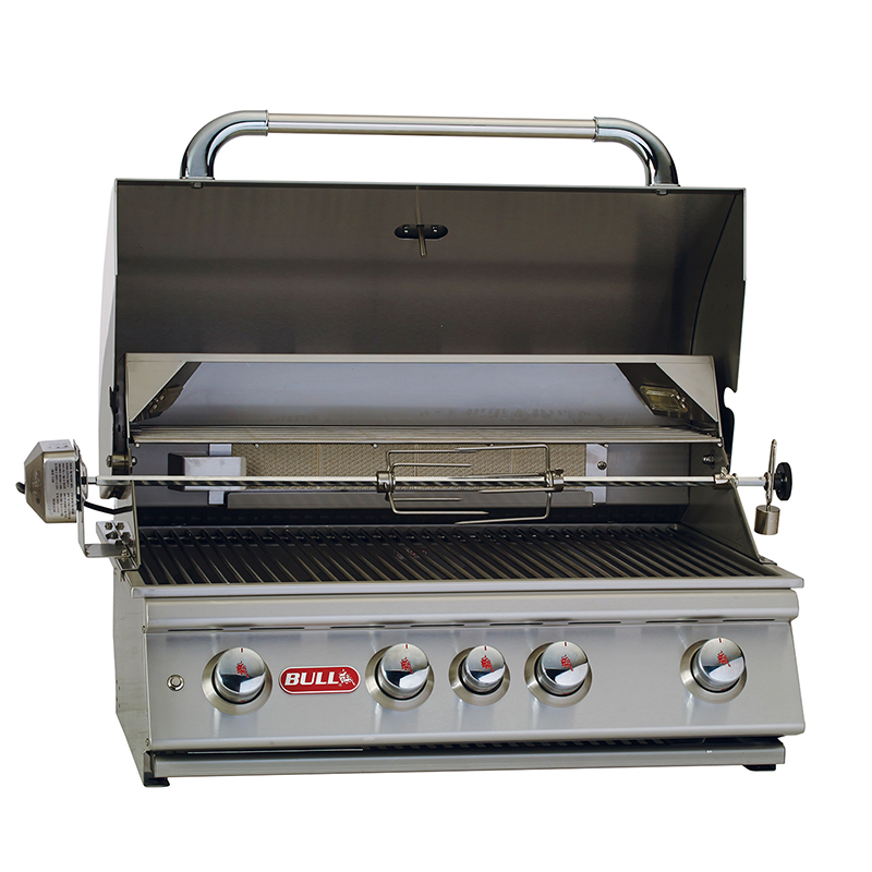 "Angus 30"" Stainless Steel Natural Gas Grill"