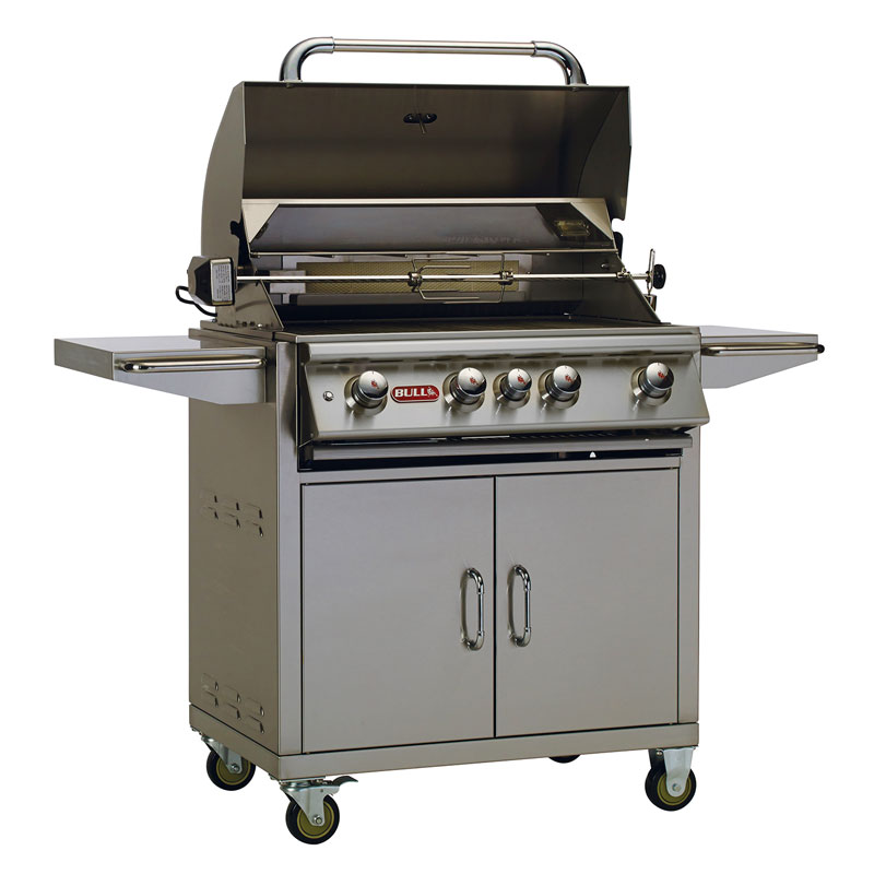 "Angus 30"" Propane Grill with Cart"