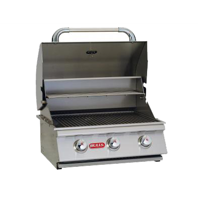 "Steer 24"" Stainless Steel Propane Grill"