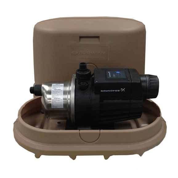 1 HP Green Rainwater Tank Booster Pump Kit
