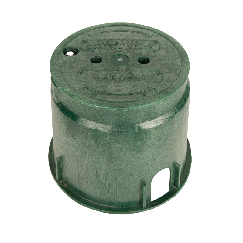 910 Carson 10-inch Green Box with Lid