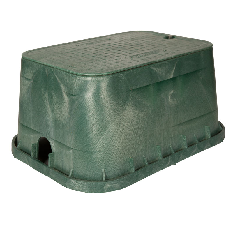 1419 Carson 12-inch Green Box with Lid