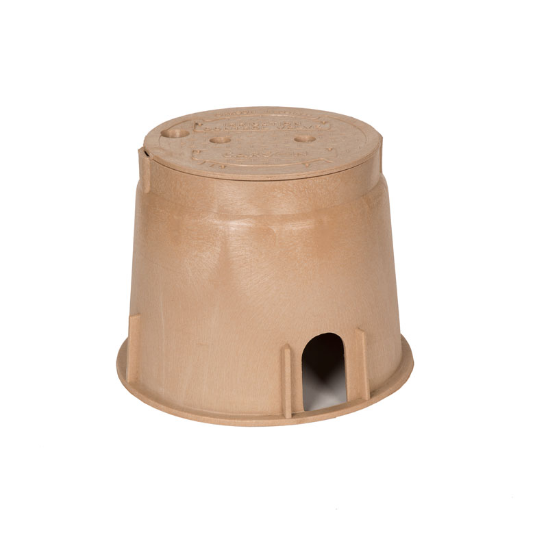 910 Carson 10-inch Tan Box and Lid