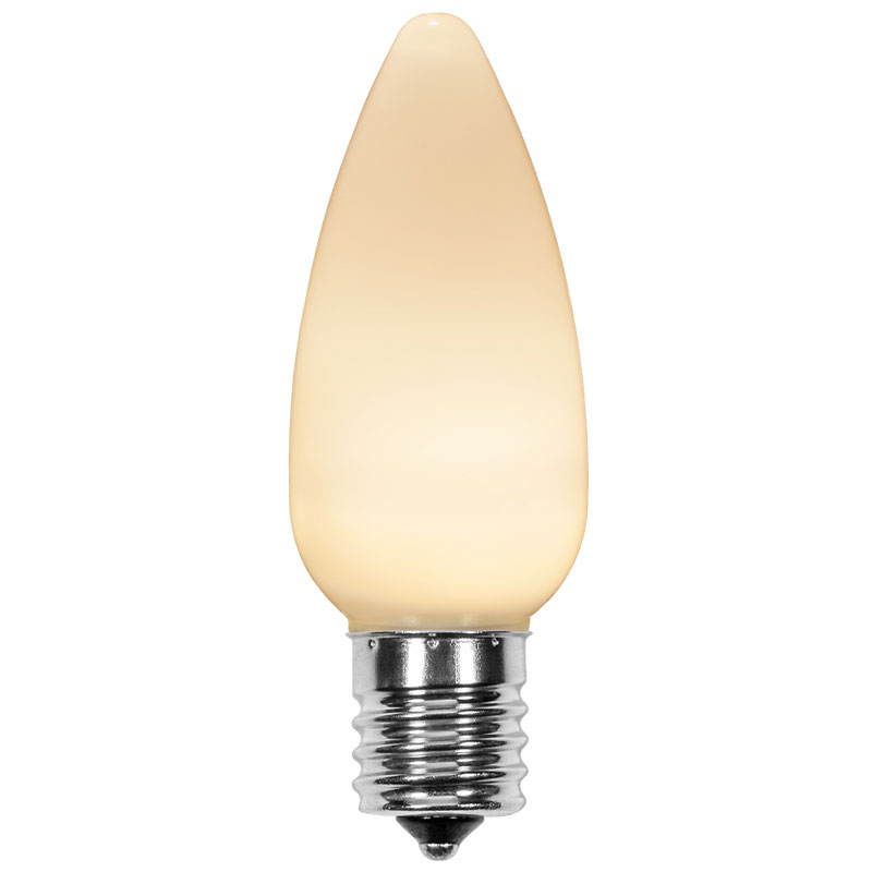 Warm White C9 Classic LED Bulb