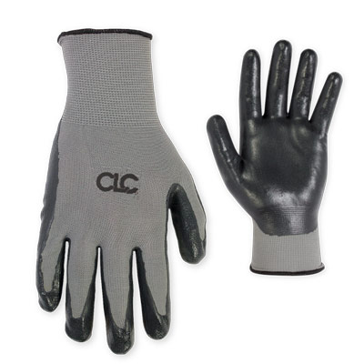 Large Nitrile Dip Gloves