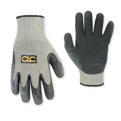 Thermal Lined Latex Dip Gripper Gloves - Large
