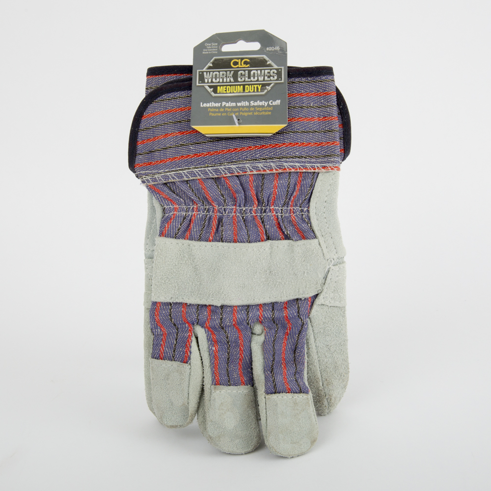 Economy Safety Cuff Work Gloves