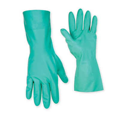 Unlined Nitrile Gloves - Large
