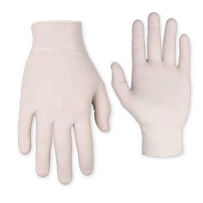 100-Count Latex Disposable Gloves