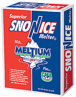 Superior Sno-N-Ice Ice-Melter 50 lb. Bag