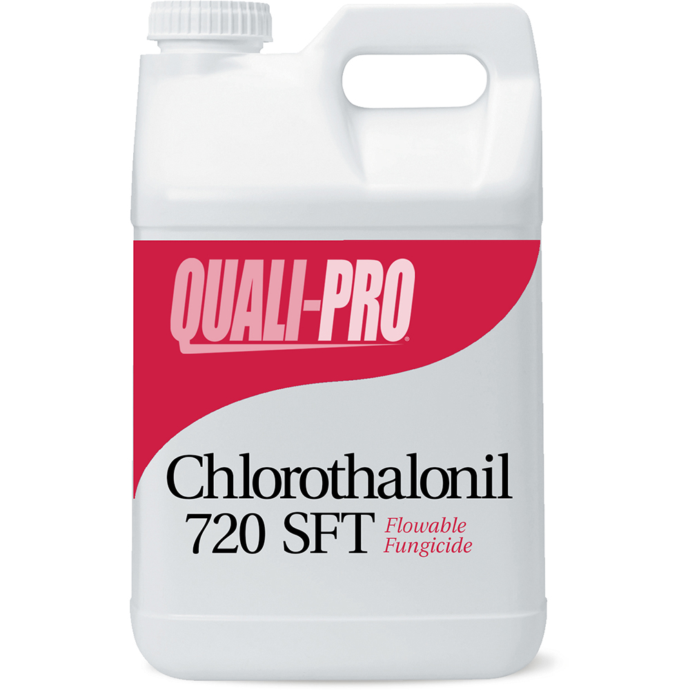 Chlorothalonil 720 SFT Fungicide – 2-1/2 gal. Bottle