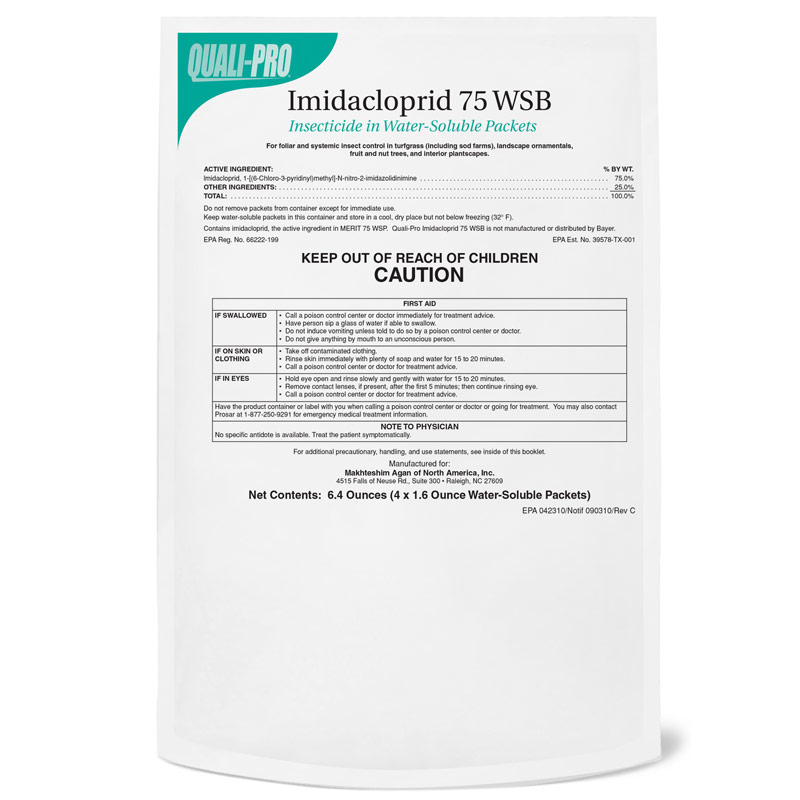 4-Pack Imidacloprid 75 WSB Insecticide