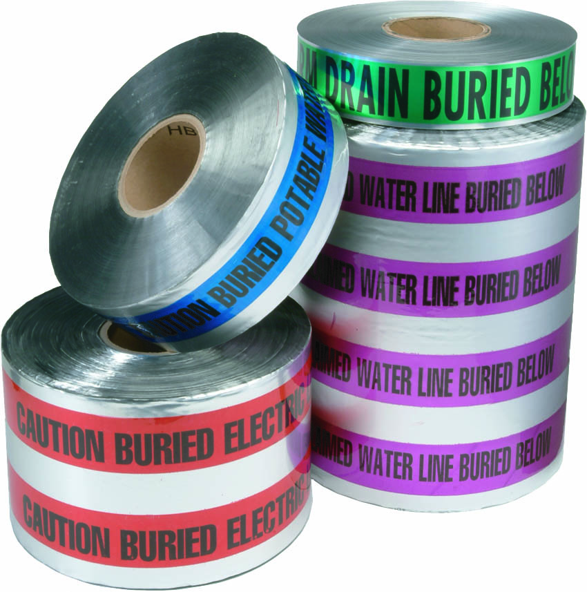 Detectable Purple Reclaimed Water Marking Tape