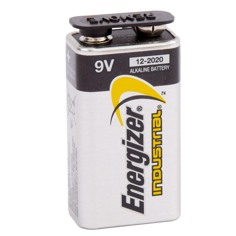 9-volt Alkaline Industrial Battery