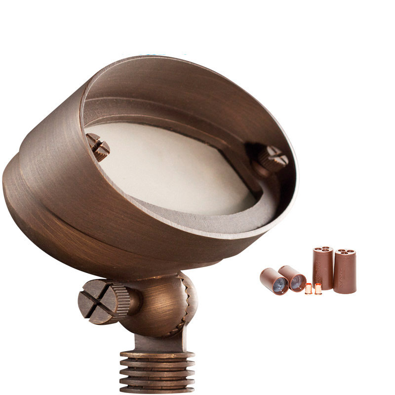 E.T. 2.5w Wall Washer in Natural Bronze