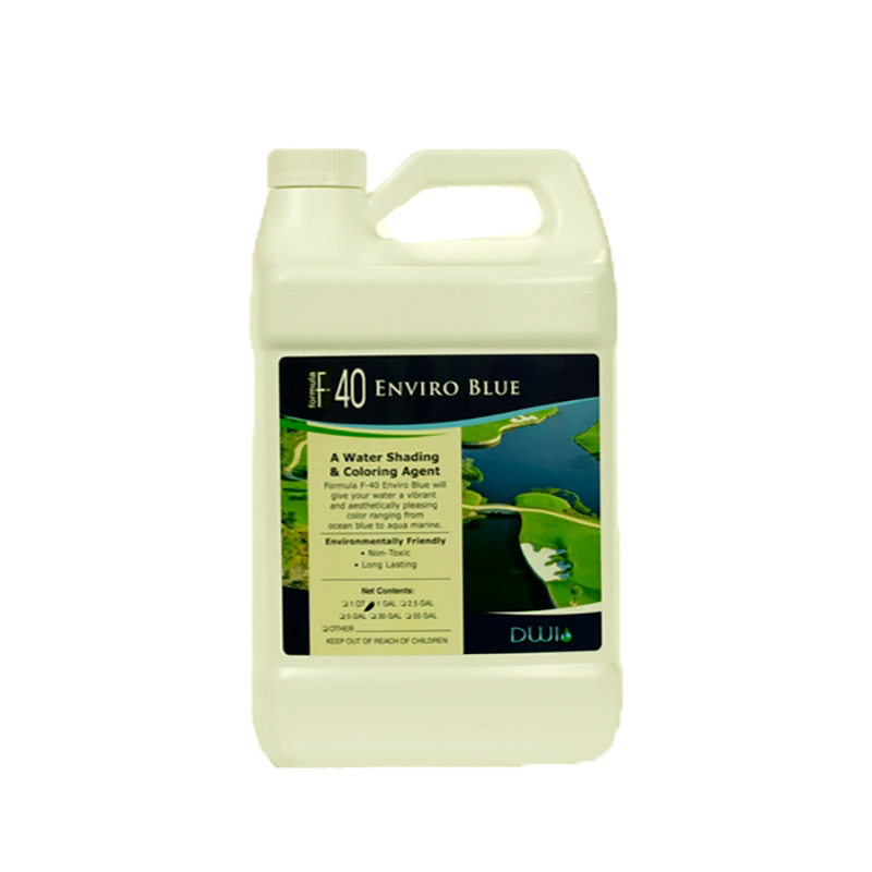 F-40 Enviro Blue - 1 gallon